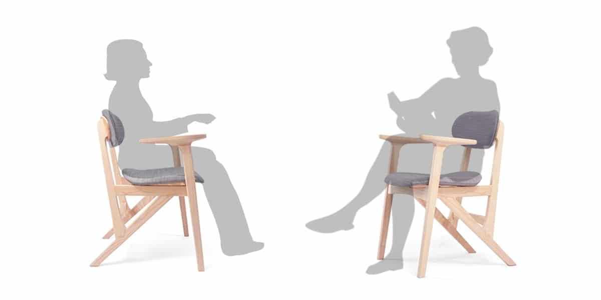 新版巴雷扶手椅 人體工學